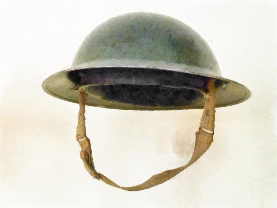 The British Brodie Helmet  Photograph