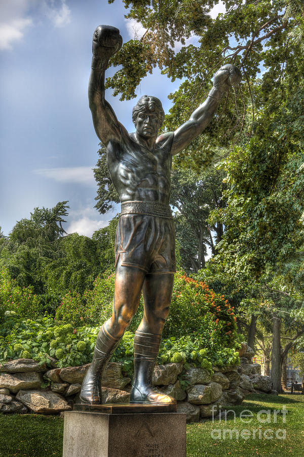 The Bronze Stallion II - Rocky Balboa - Philadelphia - Pennsylvania - Rocky Steps Photograph