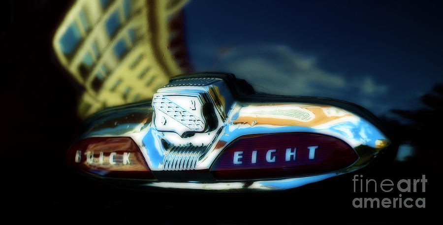 The Buick Eight  Photograph  - The Buick Eight  Fine Art Print