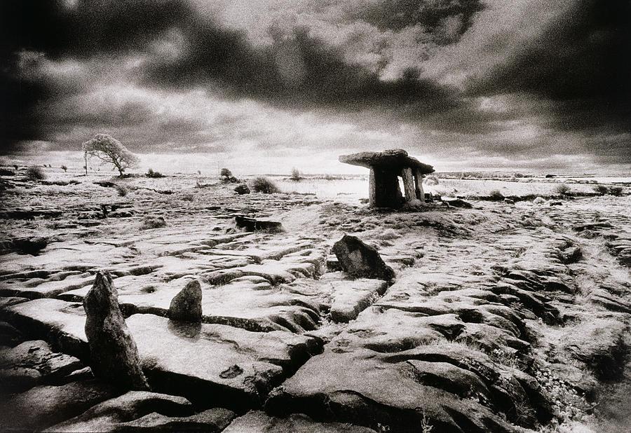 Halloween Photograph - The Burren by Simon Marsden