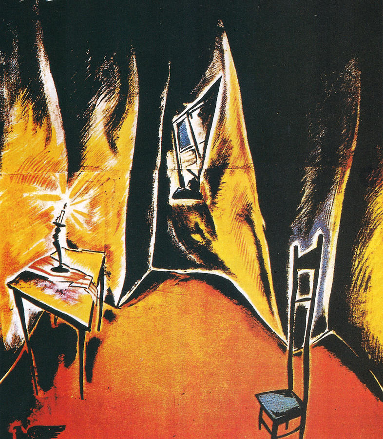 The Cabinet Of Dr Caligari Digital Art