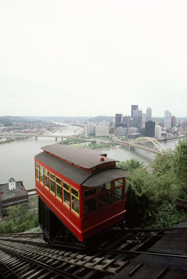 The Cable Car To Mount Washington Photograph