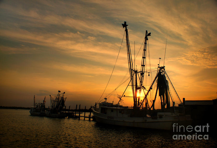The Captain Phillips At Sunset Photograph  - The Captain Phillips At Sunset Fine Art Print