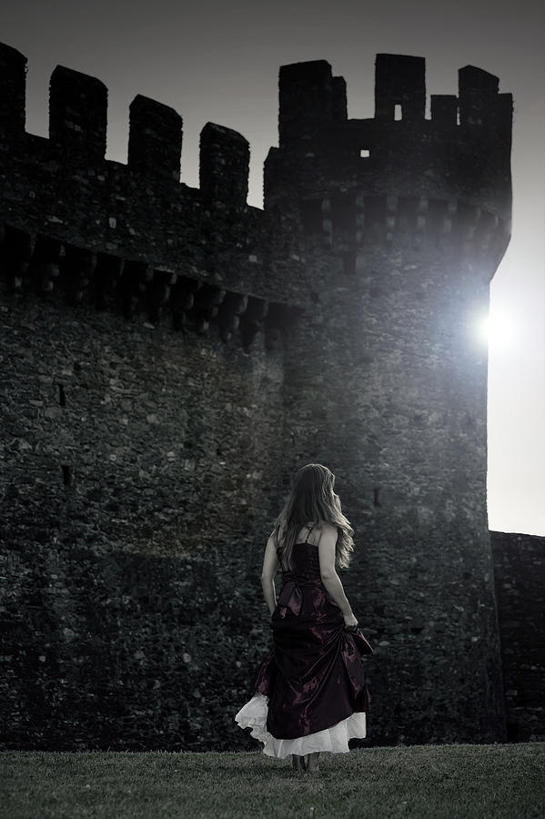 Female Photograph - The Castle by Joana Kruse