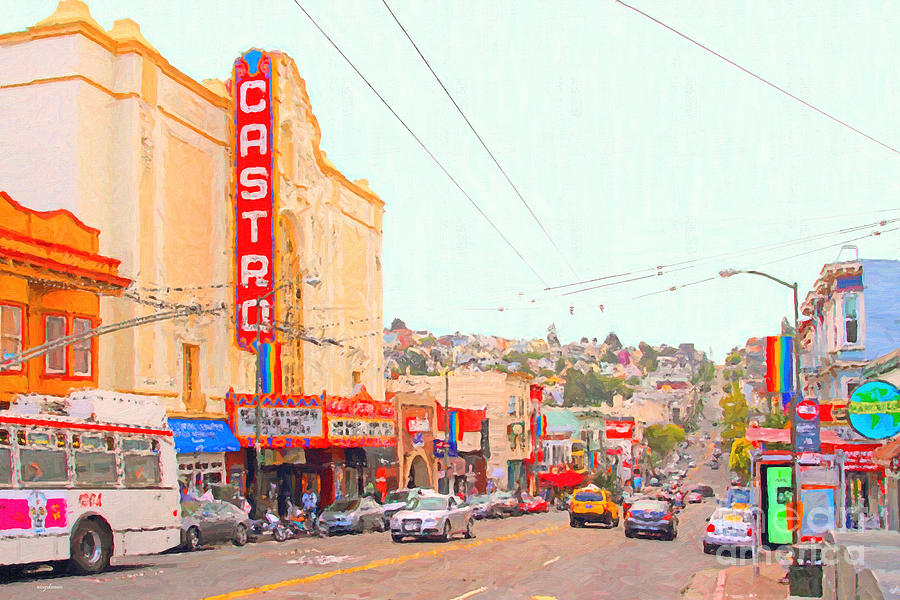 The Castro In San Francisco Photograph  - The Castro In San Francisco Fine Art Print