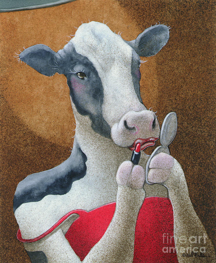 The Cattle Hustler... Painting  - The Cattle Hustler... Fine Art Print