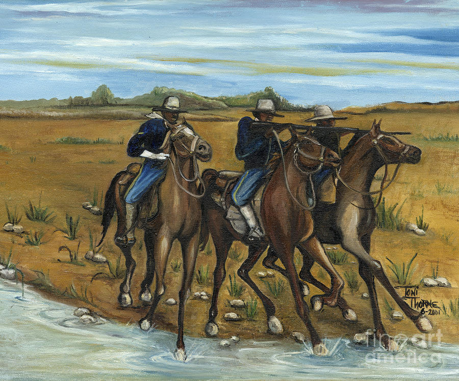 The Cavalry Painting  - The Cavalry Fine Art Print
