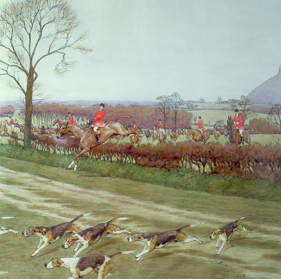 The Cheshire Away From Tattenhall Painting