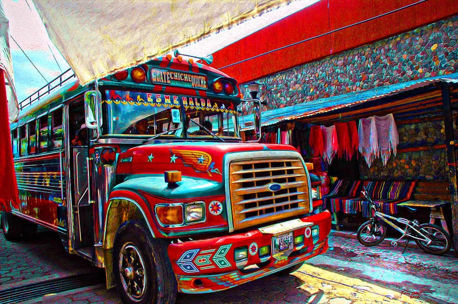 The chicken bus by tom bell