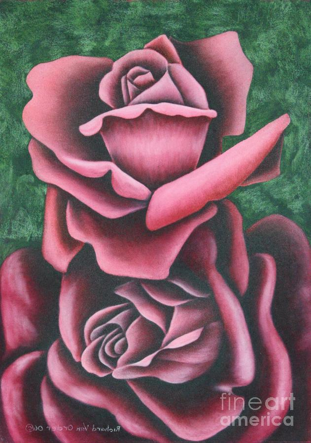 The Chritmas Rose Pastel  - The Chritmas Rose Fine Art Print