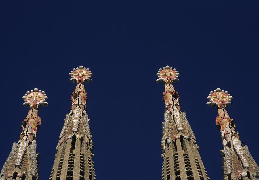 The Church Of La Sagrada Familia Photograph