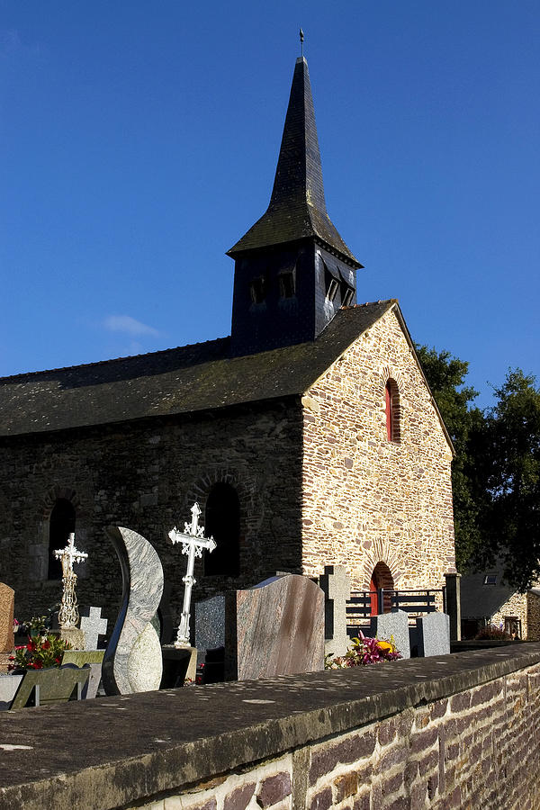 The Church Of Sainte-onenne Photograph