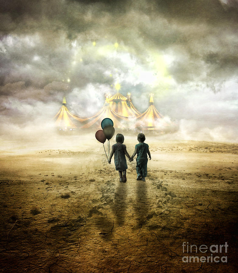 The Circus  Digital Art