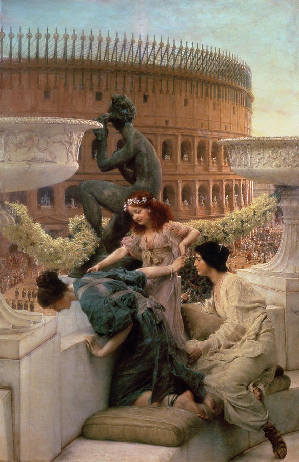 The Coliseum Painting  - The Coliseum Fine Art Print