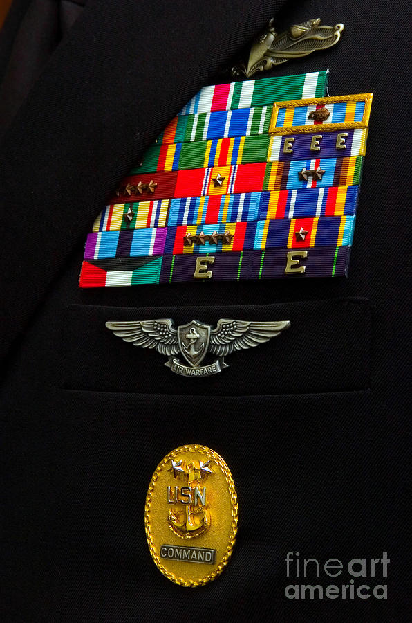 The Command Master Chief Badge Photograph