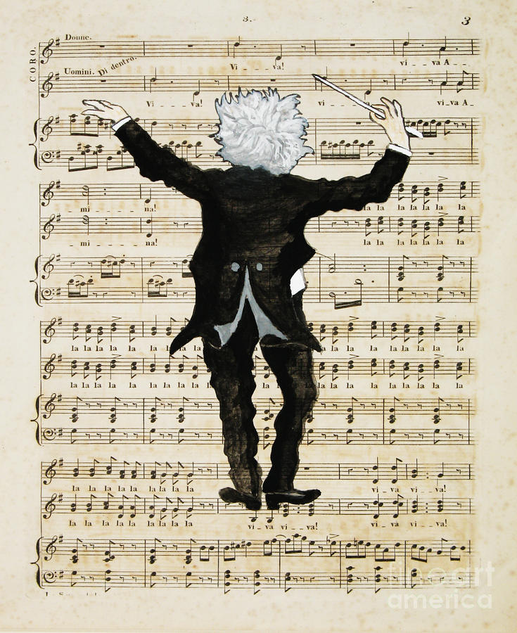 The Conductor Painting