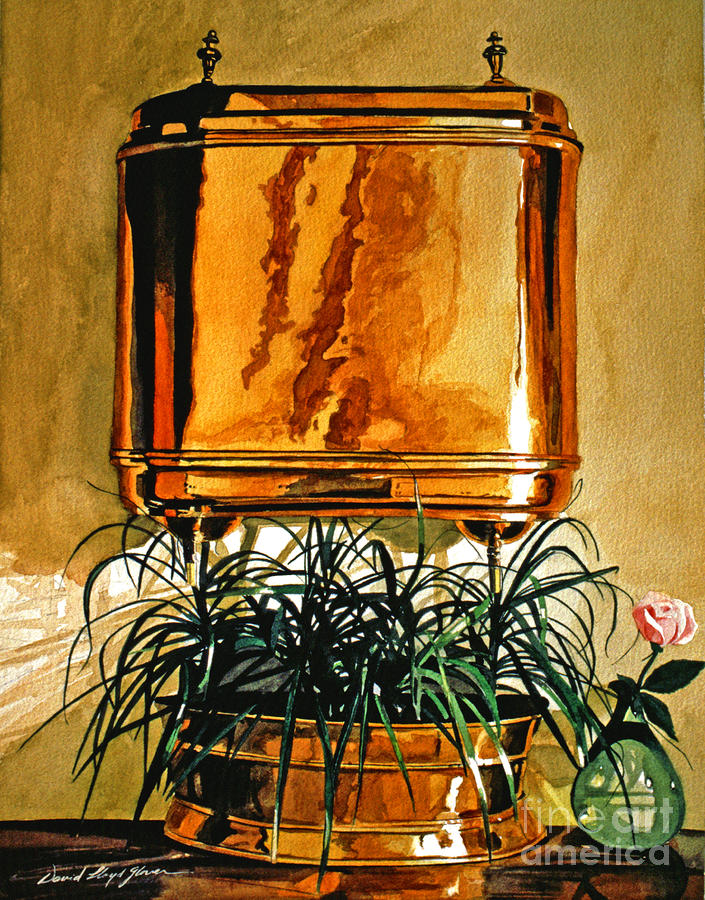 The Copper Lavabo Painting  - The Copper Lavabo Fine Art Print