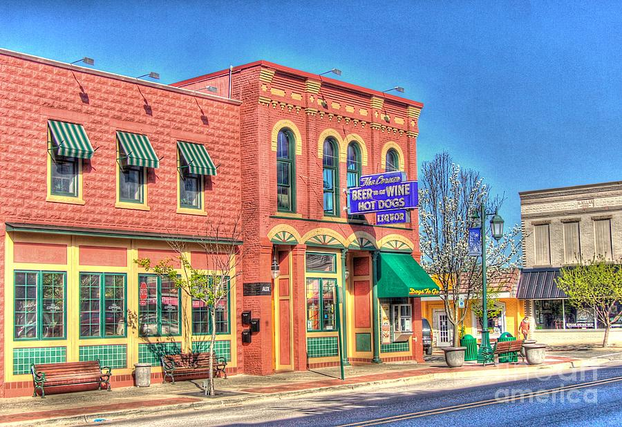 The Corner Bar Photograph  - The Corner Bar Fine Art Print