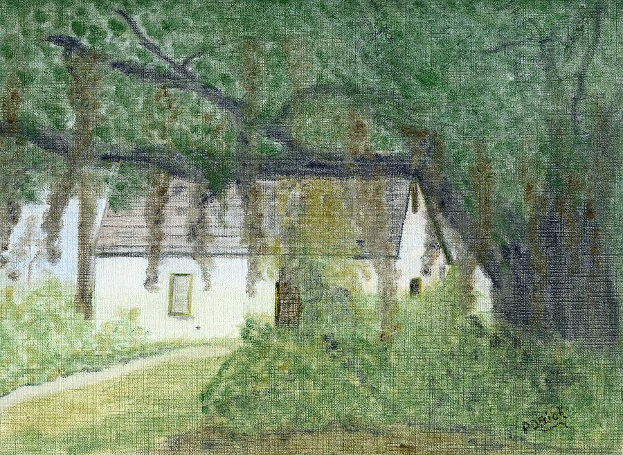 The Cottage-st. Simons Is. Ga Pastel