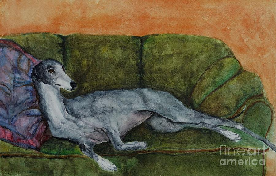 The Couch Potatoe Painting