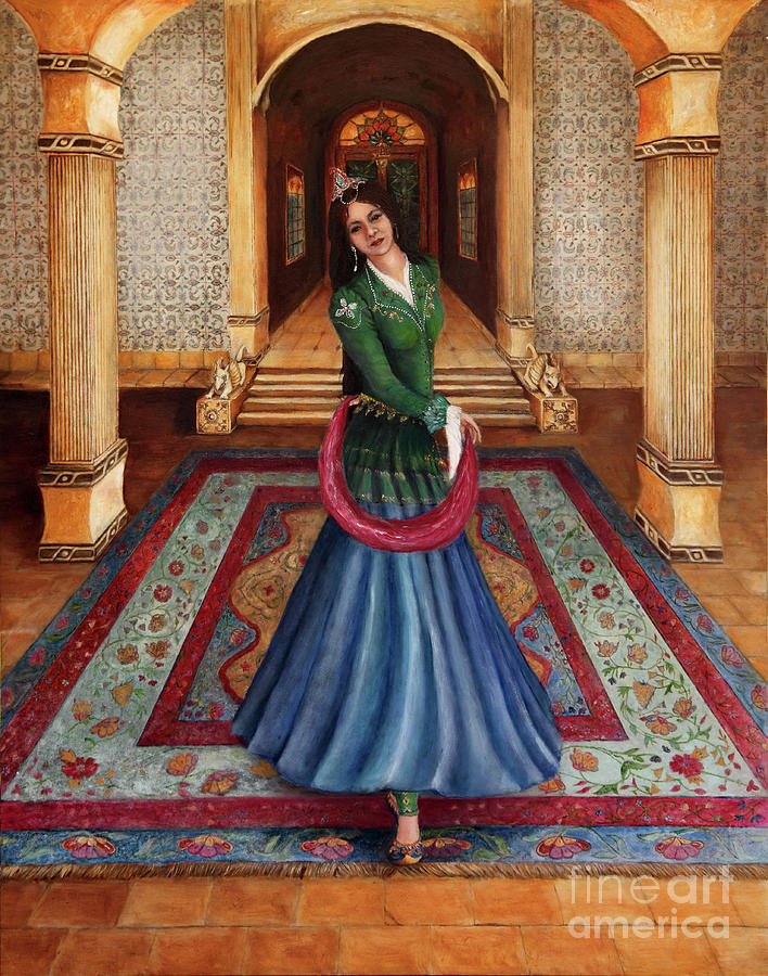 The Court Dancer Painting
