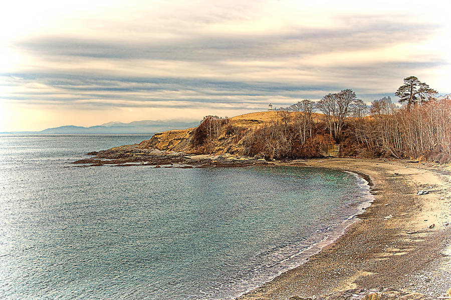 The Cove - San Juan Island Washington State Photograph  - The Cove - San Juan Island Washington State Fine Art Print