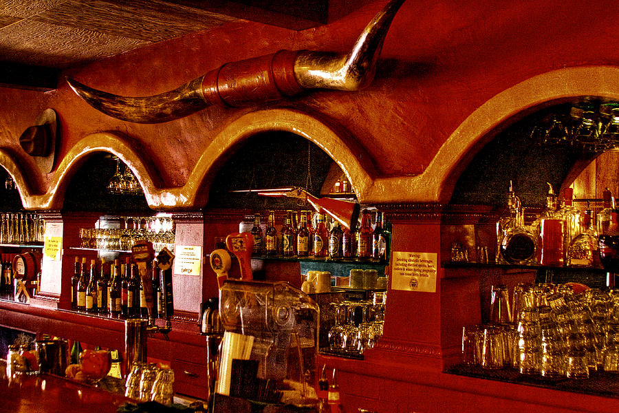 The Cowboy Club Bar In Sedona Arizona Photograph