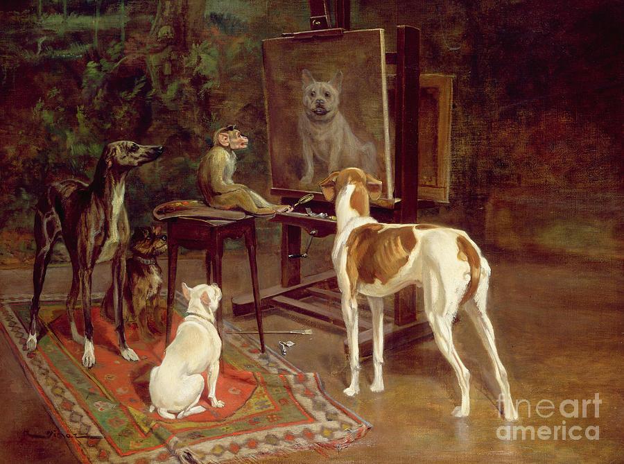 The Critics Painting