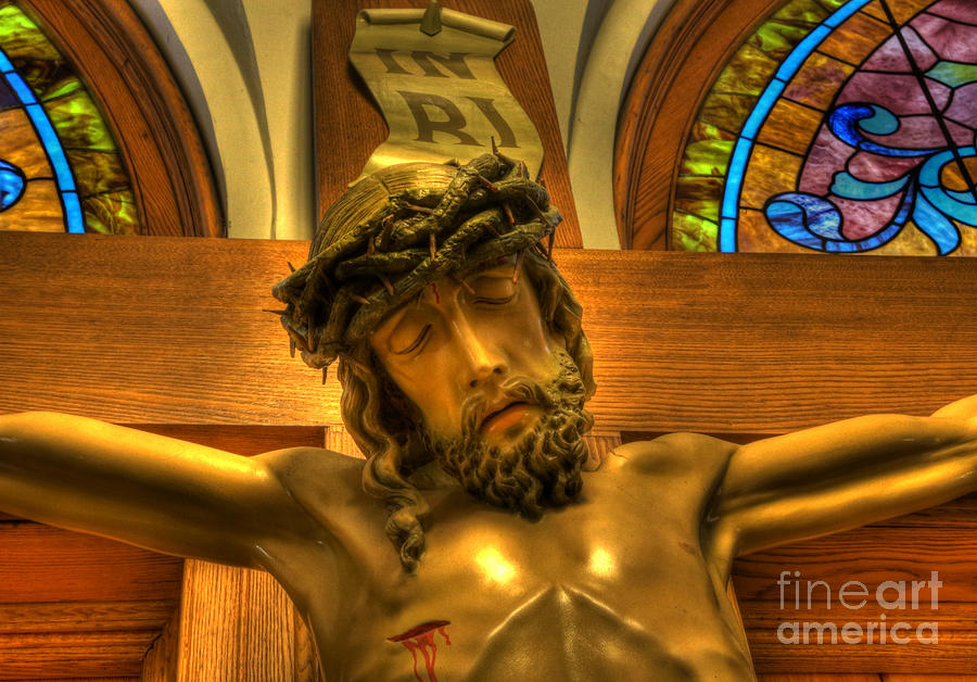 The Crucifiction Of Jesus Of Nazareth Photograph  - The Crucifiction Of Jesus Of Nazareth Fine Art Print