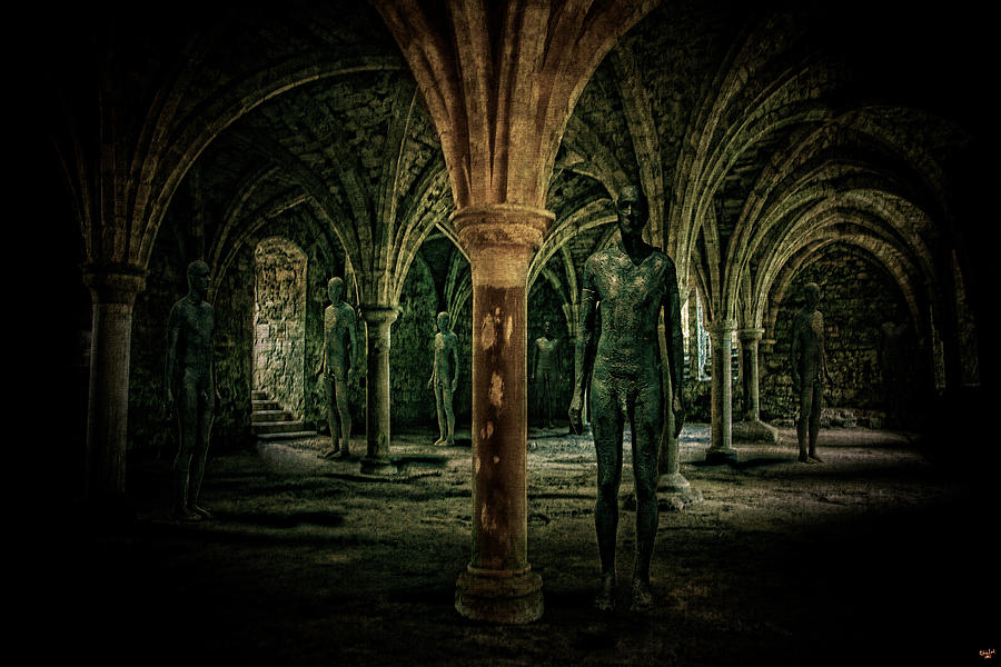 Crypt Photograph - The Crypt by Chris Lord