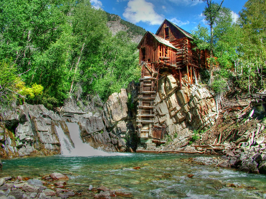 The Crystal Mill 1 Photograph