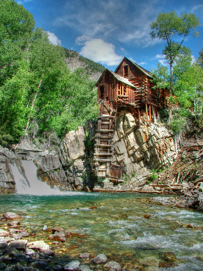The Crystal Mill In Crystal Colorado Photograph