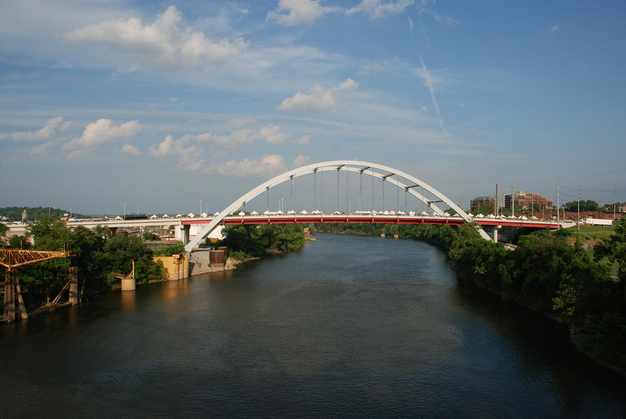The Cumberland River In Nashville Photograph