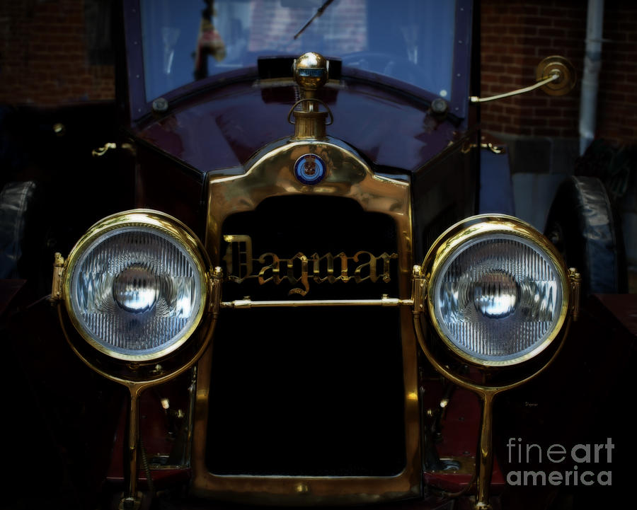 Cars Photograph - The Dagmar  by Steven  Digman