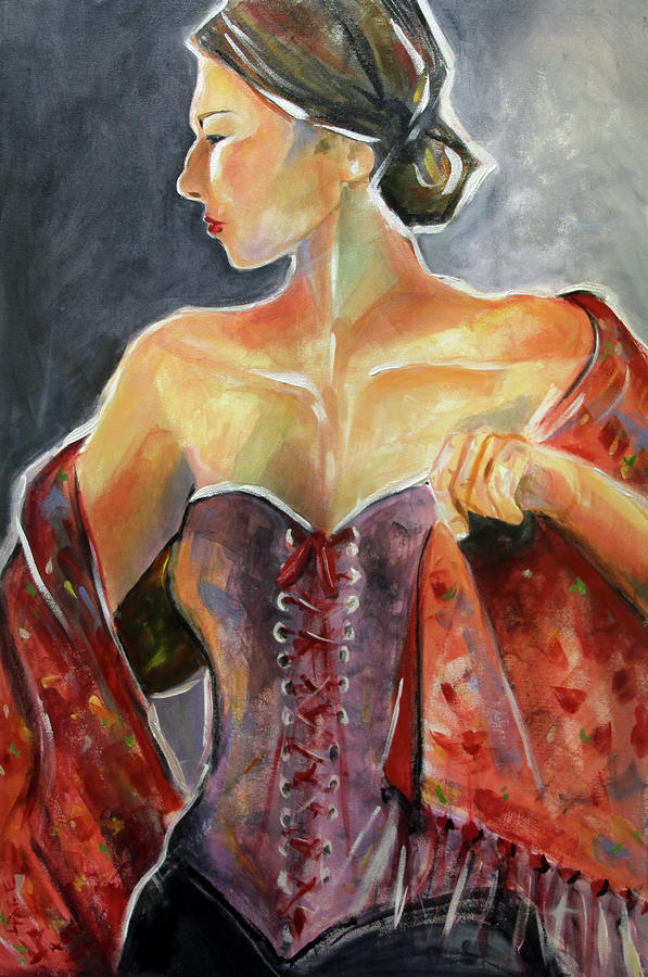 The Dancer Painting  - The Dancer Fine Art Print