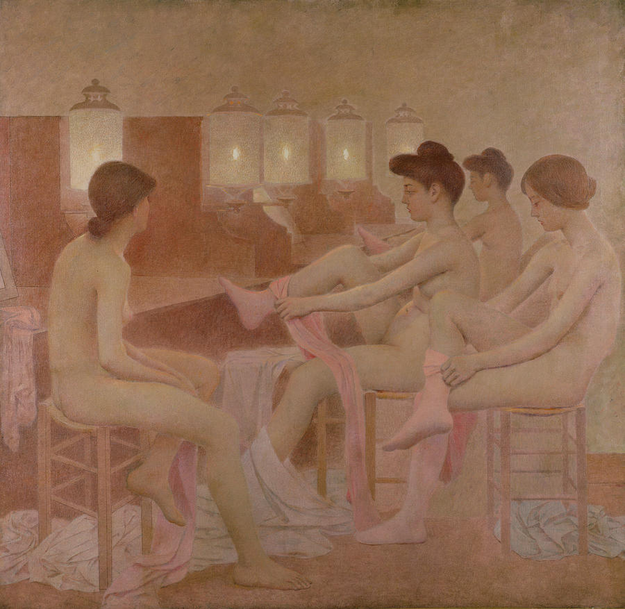 The Dancers Painting