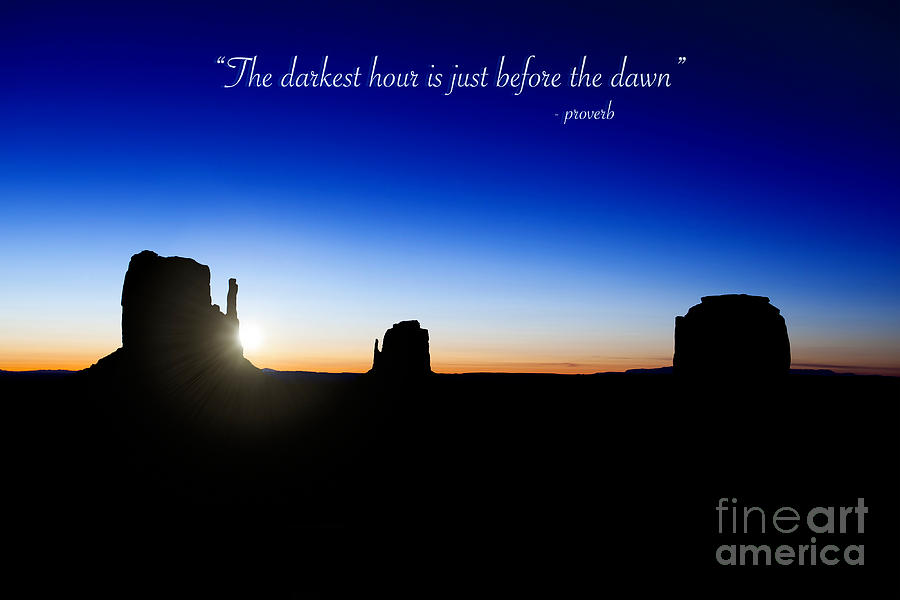 The Darkest Hour..... Photograph  - The Darkest Hour..... Fine Art Print