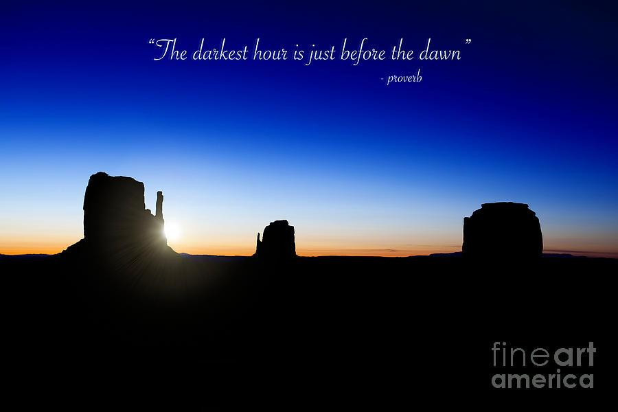 The Darkest Hour..... Photograph
