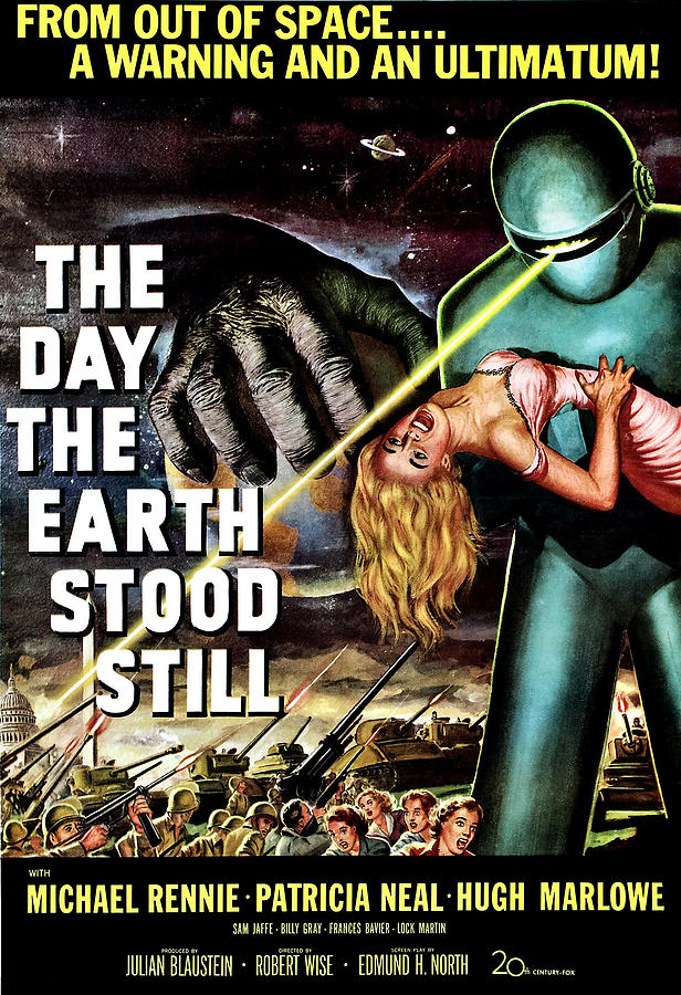 The Day The Earth Stood Still, 1951 Photograph  - The Day The Earth Stood Still, 1951 Fine Art Print