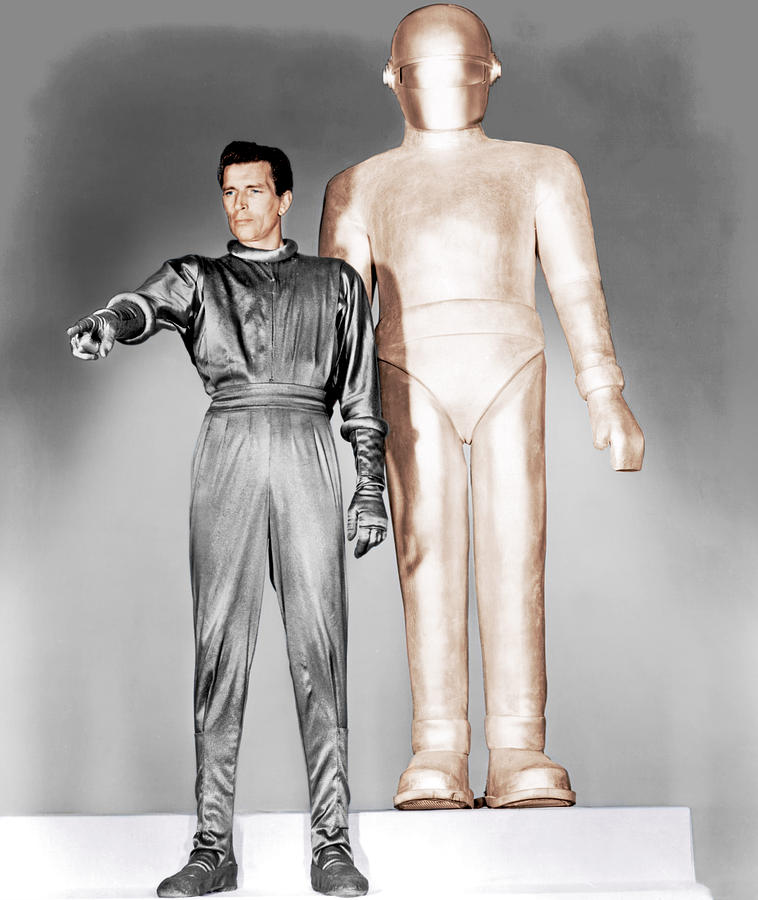 1950s Movies Photograph - The Day The Earth Stood Still, Michael by Everett