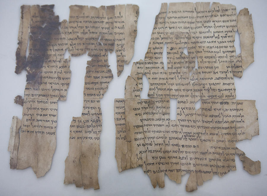 Amman Photograph - The Dead Sea Scrolls by Taylor S. Kennedy