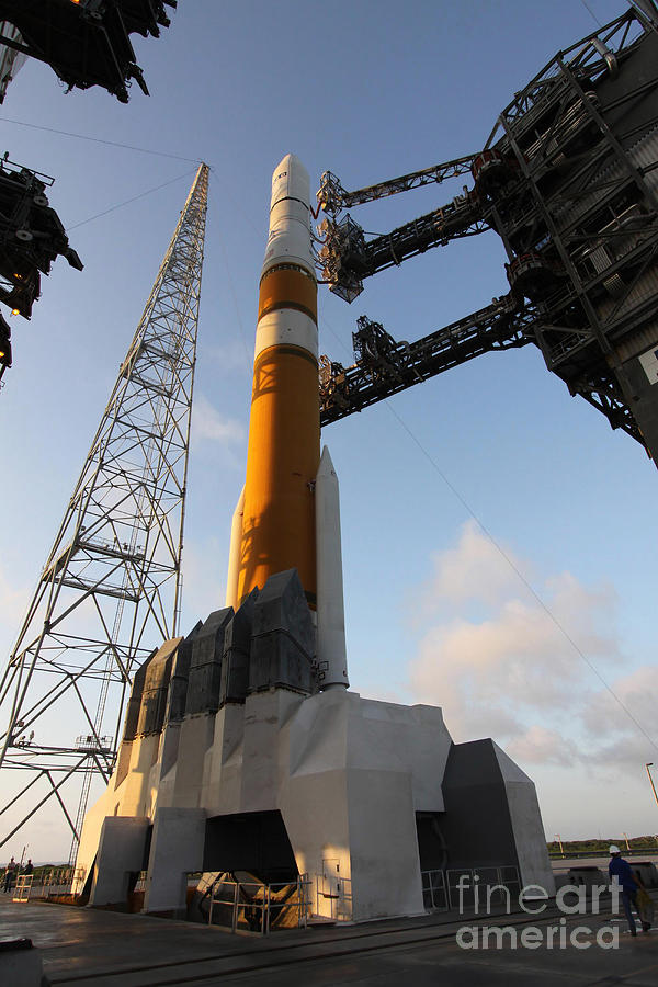 The Delta Iv Rocket That Will Launch Photograph