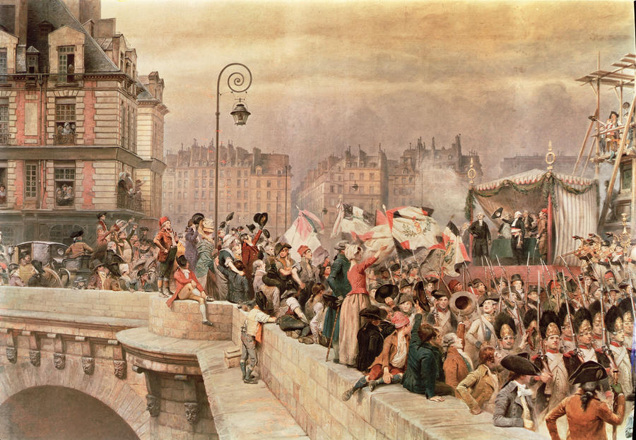 The Departure Of The Volunteers 1792 Painting