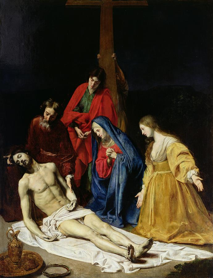 The Descent From The Cross Painting