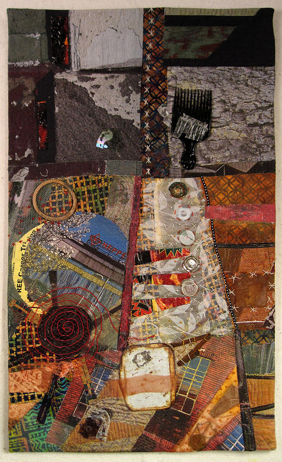 The Detritus Of Working Class Lives Tapestry - Textile  - The Detritus Of Working Class Lives Fine Art Print