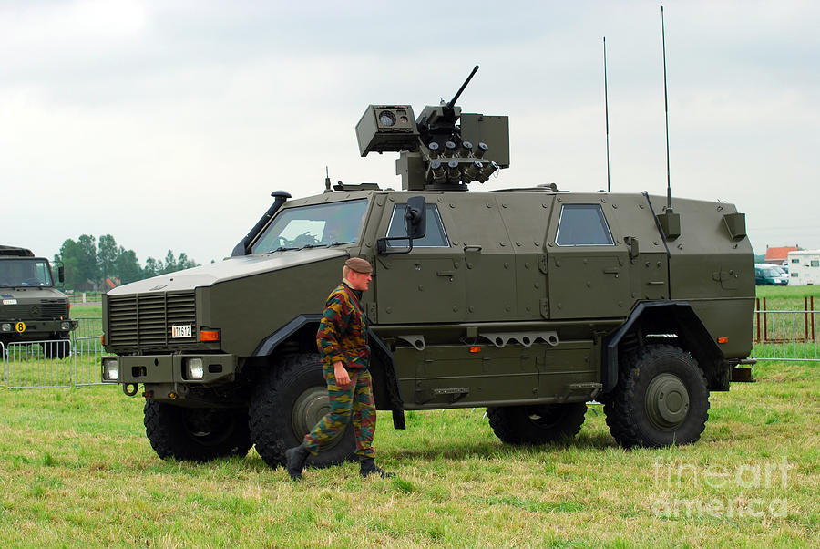 The Dingo II In Use By The Belgian Army Photograph