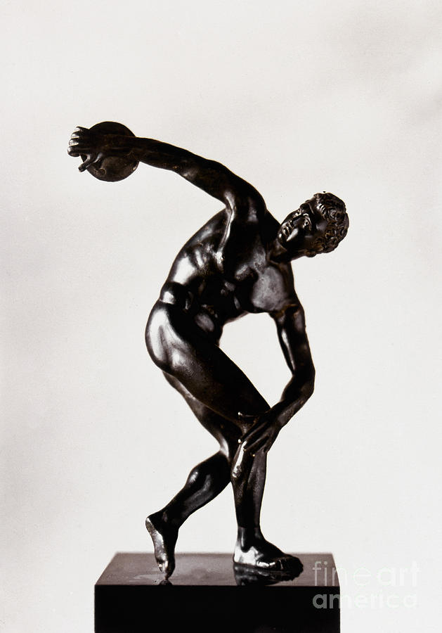 The Discobolus is a photograph by Granger which was uploaded on ...