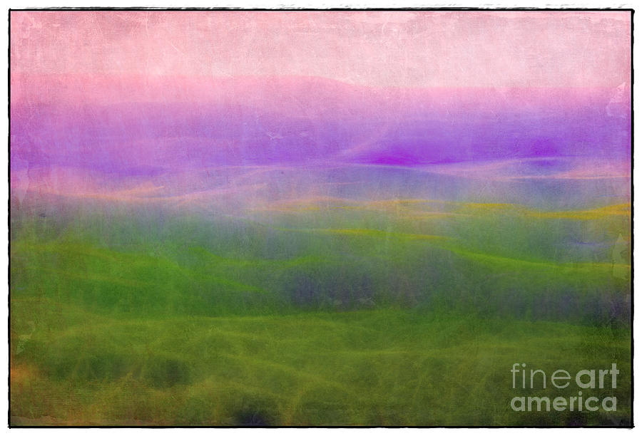 The Distant Hills Photograph  - The Distant Hills Fine Art Print