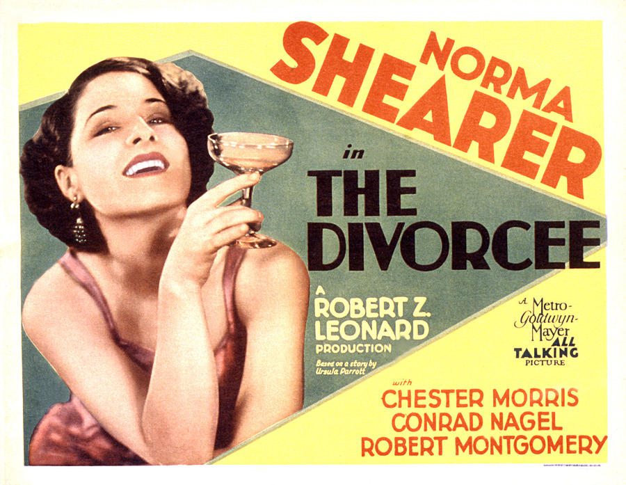 1930 Movies Photograph - The Divorcee, Norma Shearer, 1930 by Everett