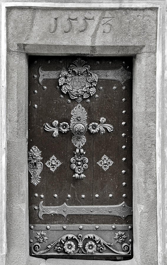 The Door - Ceske Budejovice Photograph